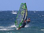 The owners of unit #250 windsurfing off Maui.