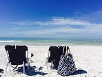 Pass-a-grille beach (our favorite) just 15 min away by car