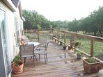 View of the front deck
