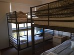 4th Bedroom with 2 sets of bunks