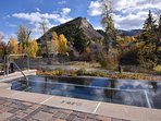 One of 3 infinity hot tubs on the Eagle River
