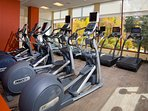 Full 22,000 sq ft Riverside Health Club for your use