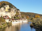 The riverside village of La Roque Gageac , just a few kms away.