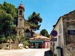Lefkimmi village 3 mins drive