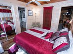 Master Queen Bed with private bath on first floor, newly refurbished, WOW!