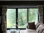 **NEW Woodland barn apartment with amazing sea, mountain and countryside views