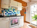 Blackbird Cottage compact country kitchen