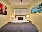 Second bedroom has a queen bed.