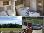 8 berth luxury caravan