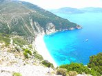 Do not foret to visit the Myrtos beach that locates in the North of the island, that is 35 km away!