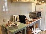 gli eletrodomestici presenti in cucina