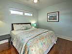 Both bedrooms provide queen-sized beds to help you get a restful night's sleep.