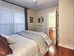 There are quality linens and comfortable queen-sized beds in both bedrooms.
