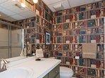 Bathroom in the apartment