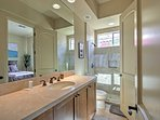 Each bedroom has its own private bathroom!