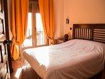 Casa Rural De Felipe-Habitacion 1, cama doble