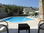 Large private pool 10 meters x 6.5 meters - 1.47 Meter (deepest). 97cm (shallow)