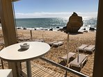 Imagine yourself having a drink or a meal on the fabulous Sao Rafael beach, A short stroll away
