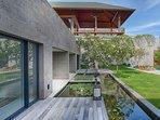 Sohamsa Estate - Villa Soham - Guest room terrace
