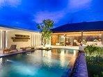 Sohamsa Estate - Villa Soham - Night time lights