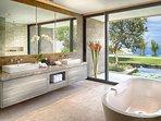 Sohamsa Estate - Villa Soham - Guest bedroom one ensuite