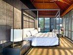 Villa Hamsa - Sundrenced master bedroom