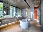 Villa Hamsa - Designer master bedroom ensuite