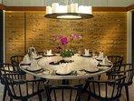 Villa Hamsa - Dining setting