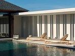 Villa Hamsa - Sun loungers