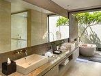 Villa Hamsa - Guest bedroom two bathroom
