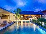 Villa Hamsa - Evening ambience