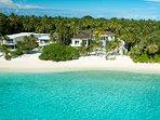 The Amilla Villa Estate - Absolute beachfront