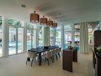 The Amilla Villa Estate - Dine in style