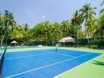 The Amilla Villa Estate - Tennis for everyone