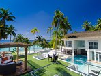 The Amilla Villa Estate - Private roof terrace