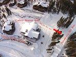 Ski in ski out map