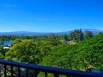 Panoramic views from the lanai