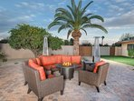 Outdoor heaters and fire-pit