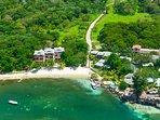 Aerial view of Bayside Villas