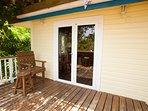 Guest house area soggiorno all'aperto