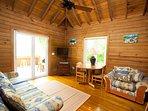 Guest house soggiorno e sala da pranzo
