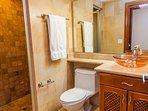 Guest bathroom for guest bedroom #1