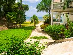 Path from condo to the beach
