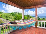 Can you imagine yourself spending a bit of time in our hammock?