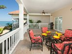 Enjoy breakfast out on the patio with amazing views to keep you occupied