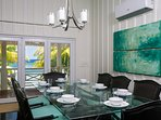 Large indoor dining area