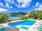 Swimming pool, villa Mir Vami, Sumartin, Brac Island