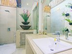 BATH 2:  Ensuite Semi tropical  Bathroom