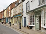 Visit Bridlington's Old Town for a 'Dad's army' experience.