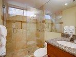 Bathroom #1, with walk in shower